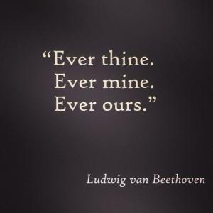 Beethoven love quote