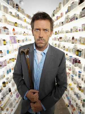 dr gregory house is a fictional character of the fox tv series house m ...