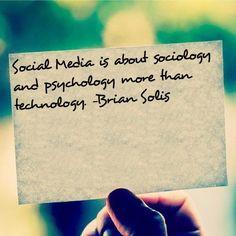 Social Media Quote - Sociology & Psychology #quote #SocialMedia # ...