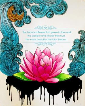 ... lotus symbolism Spiritual Lotus Flower inspirational quote Namaste