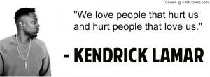 Kendrick Lamar cover