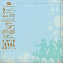... Paper - Brownie Girl Scouts Collection - The Girl Scout Law, CLEARANCE