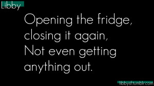 cold, fridge, funny quote, funny quotes, quote