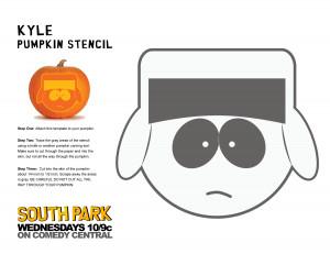 """South Park"""" Halloween Pumpkin Stencils"""