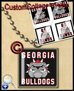 NEW - CUSTOM UNIVERSITY OF GEORGIA BULLDOGS UGA NCAA COLLEGE FOOTBALL