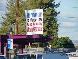 Criticism of Mormonism/Anti-Mormon