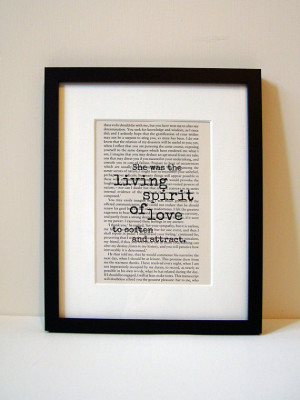 Frankenstein - Book Quote Print - Birthday Gift - Gift For Her - Gift ...