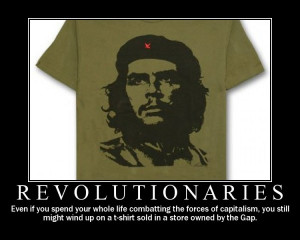 ... Picture of Marxist Killer Che Guevara for Hispanic Heritage Month