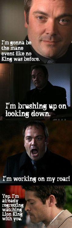 supernatural crowley quotes | Crowley - Supernatural Fan Art (26784625 ...