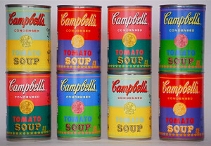 Limited Edition Campbell's Soup Cans Inspired by Andy Warhol's Art