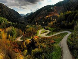 Routes de montagne de France