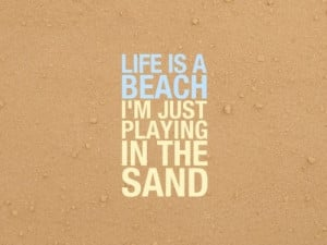 beach #words #life #quote #beach quote #sand #fun #typography