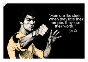 Men are like steel quote