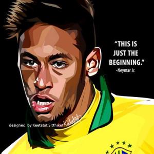 neymar jr quote £ 14 00 neymar jr quote this is just the beginning ...