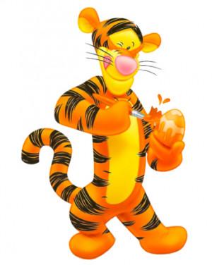 ... tigger para imprimir tigger en dibujo coloreado imagenes de tigger
