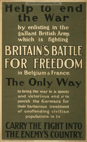 enemy s country british ww1 propaganda posters ww1 army posters