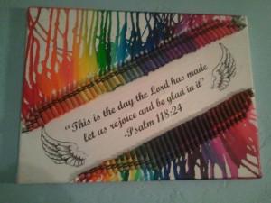 Wall Art, Diy Crafts Art, Crayons Canvas Art, Canvas Quotes, Crayons ...