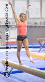 to encourage a gymnast using gymnastics pictures, gymnastics quotes ...