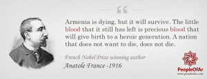 march 19 2015 anatole france armenian genocide survival of armenians ...