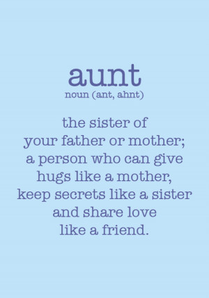 Cute Aunt And Niece Quotes