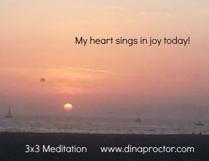 My heart sings in joy today!