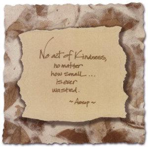 Words to Live by: Kindness