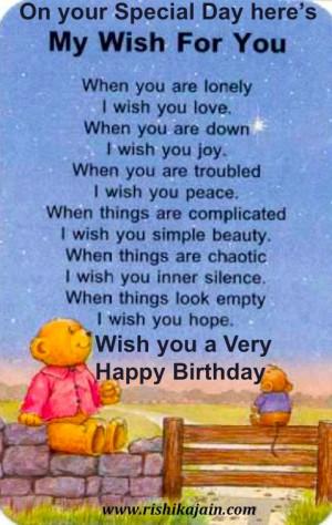 Birthday Wishes, Happy Birthday Quotes, Greetings, Birthday Quotes ...