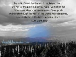 Inspirational quotes: #vonnegut