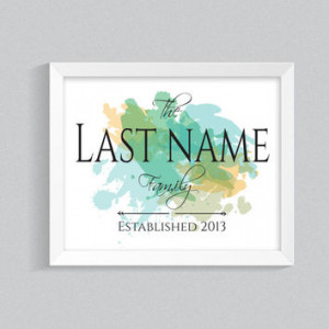 Wall Decal Monogram Arrows with Names and Date Vinyl Wall Dec... More