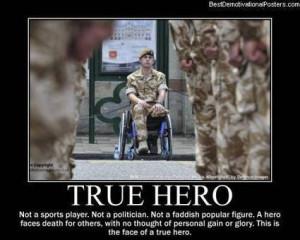 True Hero   Demotivational Posters   Scoop.it