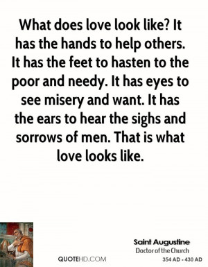 or publish quotes picture from saint augustine quote about love