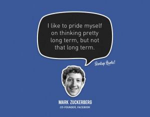 Mark Zuckerberg's quote