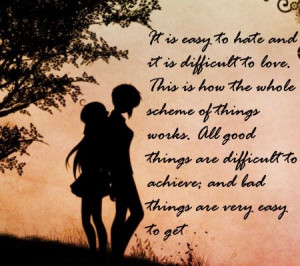 difficult to love