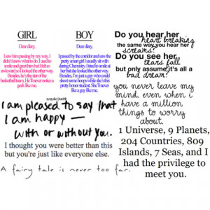 Love quotes by me (not really) - Polyvore