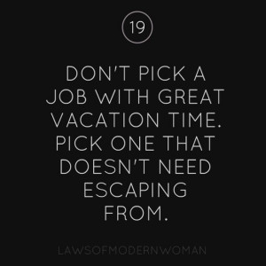 The Right Job {Quote}