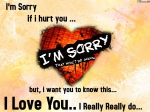 Sorry I Love You Quotes. QuotesGram