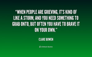 Quotes For Grieving People