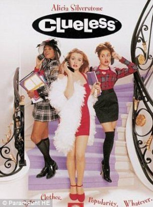 Clueless- I don't usually like a lot of the silly teen type movies ...