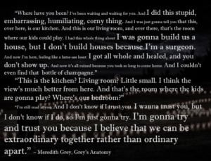 Grey's Anatomy Best Quotes Ever | Grey's Anatomy quote