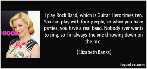 Rock Band Quotes