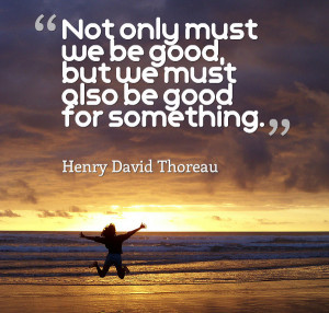 Henry David Thoreau and other inspirational charity quotes! (Photo ...