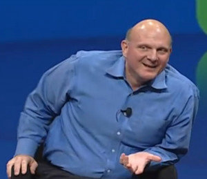 Steve Ballmer snatches the MacBook Air from Guy Kawasaki and asks ...