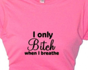 ... Women's Funny Quotes, Attitude Sayings Bitchy Bad Girls,Clothing Top