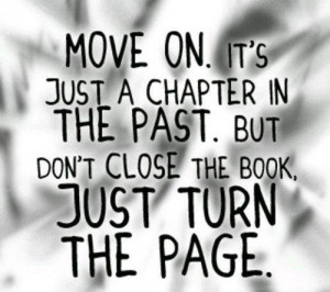move on, quote
