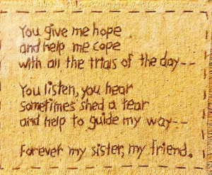 For my friends who are my soul sisters.