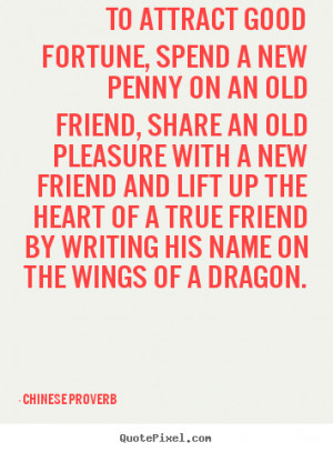 chinese quotes and sayings about friendship chinese proverbs quotes ...