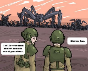 Funny Imperial Guard Quotes image - Warhammer 40k Tyranids Group