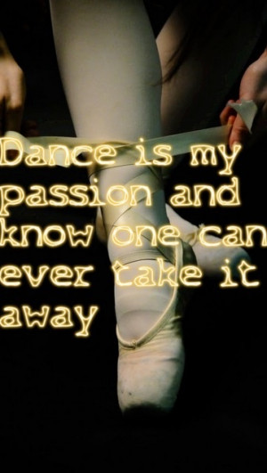 Its my passion but it may be taken away because of my hip being torn