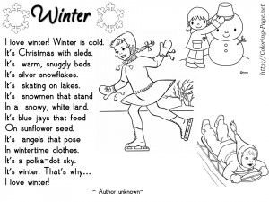 You can find the second part of Winter Poems here