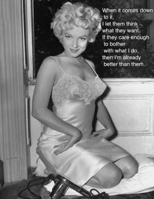 marilyn monroe quotes about confidence